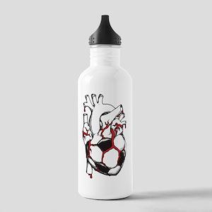 Soccer Heart Stainless Water Bottle 1.0L