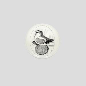 Fairy Swallow Pigeon Mini Button