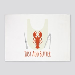 Just Add Butter 5'x7'Area Rug