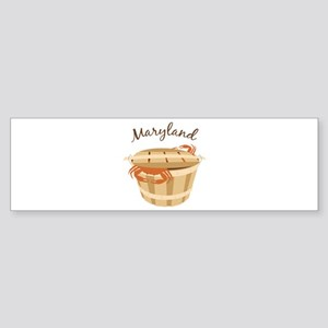 Maryland Crab ! Bumper Sticker