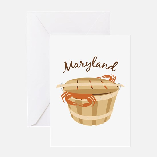 Maryland Crab ! Greeting Cards