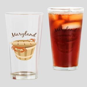 Maryland Crab ! Drinking Glass