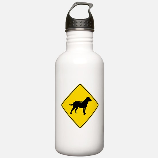 Chesapeake Bay Retriever Crossing Water Bottle
