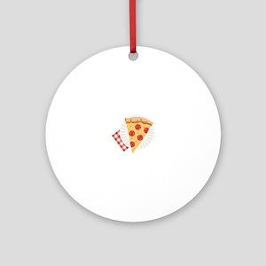 Pizza Slice Ornament (Round)