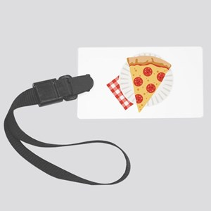 Pizza Slice Luggage Tag