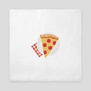 Pizza Slice Queen Duvet