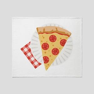 Pizza Slice Throw Blanket