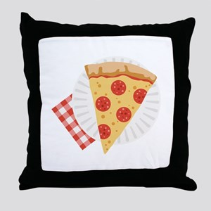 Pizza Slice Throw Pillow