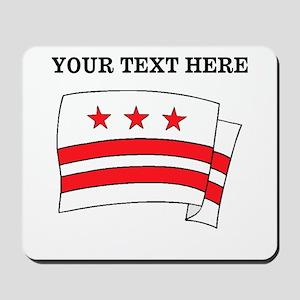 Custom Washington DC Flag Mousepad