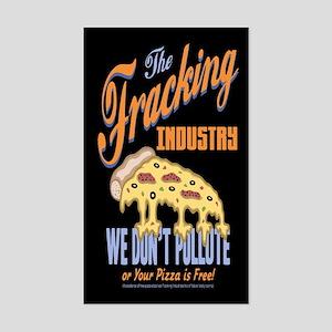 Fracking Guarantee Sticker (Rectangle)