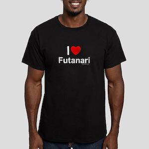Futanari Men's Fitted T-Shirt (dark)