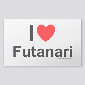 Futanari Sticker (Rectangle)