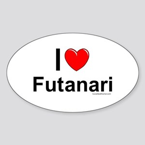Futanari Sticker (Oval)