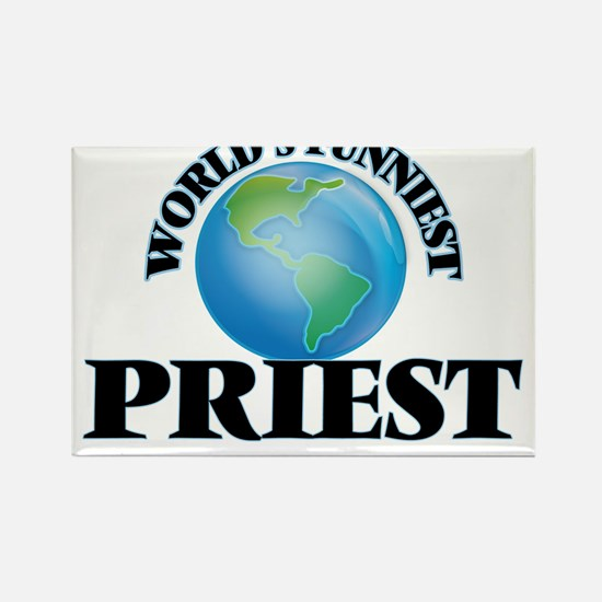 World's Funniest Priest Magnets
