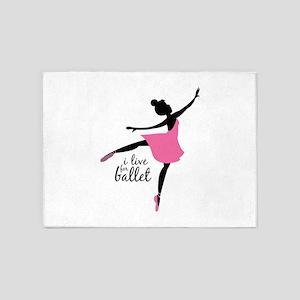 Ballerina 5'x7'Area Rug