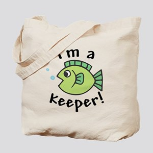 I'm a Keeper! (Fish) Tote Bag