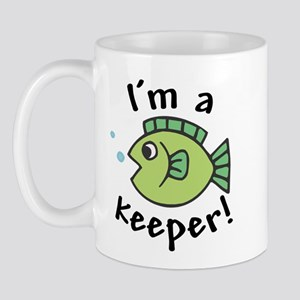 I'm a Keeper! (Fish) Mug
