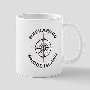 Rhode Island - Weekapaug Mugs
