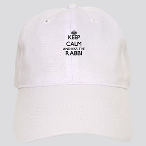 Keep calm and kiss the Rabbi Cap