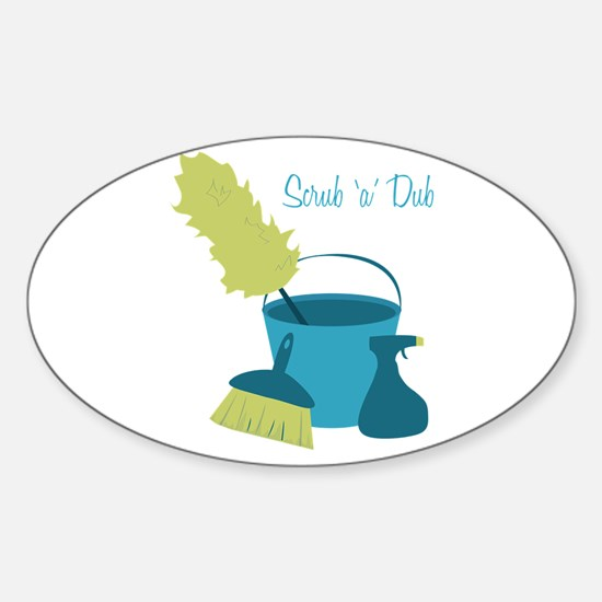 Scrub 'A' Dub Decal