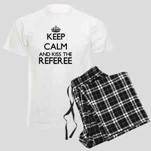 Keep calm and kiss the Refere Men's Light Pajamas
