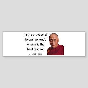 Dalai Lama 13 Bumper Sticker