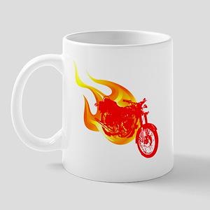 Red Motorcycle Mug