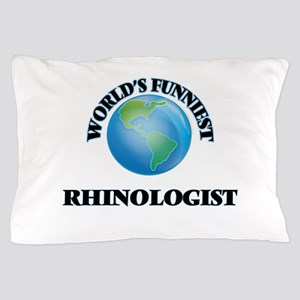 World's Funniest Rhinologist Pillow Case