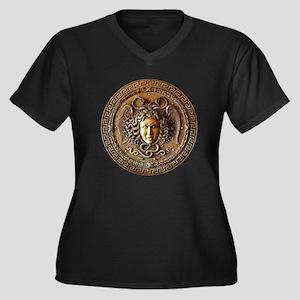 Greek Shield Medusa Plus Size T-Shirt