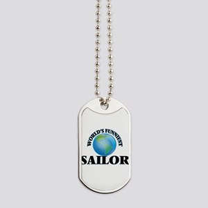 World's Funniest Sailor Dog Tags