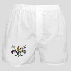Mardi Gras Fleur Boxer Shorts