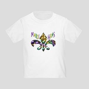 Mardi Gras Fleur T-Shirt