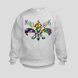 Mardi Gras Fleur Sweatshirt
