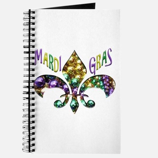 Mardi Gras Fleur Journal