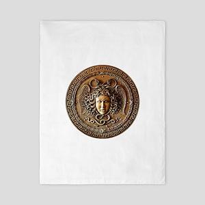 Greek Shield Medusa Twin Duvet