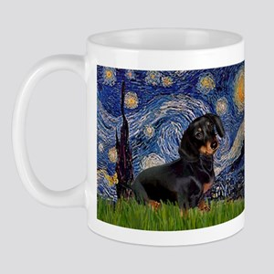 Starry Night Dachshund Mug