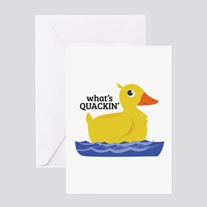 What's Quackin' Greeting Cards