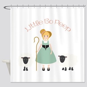 Bo Peep Shower Curtain