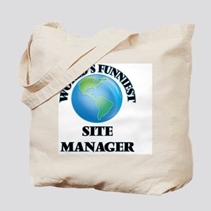 World's Funniest Site Manager Tote Bag