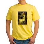 Ophelia's Dachshund Yellow T-Shirt