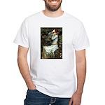 Ophelia's Dachshund White T-Shirt