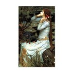 Ophelia's Dachshund Sticker (Rectangle)