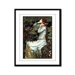 Ophelia's Dachshund Framed Panel Print