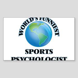 World's Funniest Sports Psychologist Sticker