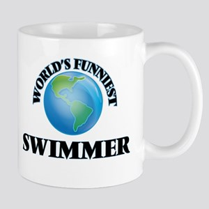 World's Funniest Swimmer Mugs