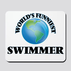 World's Funniest Swimmer Mousepad