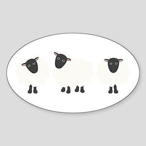 Count Sheep Sticker