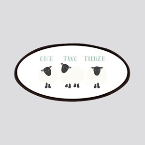 One Two Three Sheep Patches