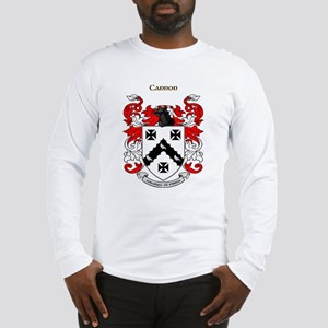 Cannon Coat of Arms Long Sleeve T-Shirt