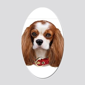 Cavalier King Charles Portra 20x12 Oval Wall Decal